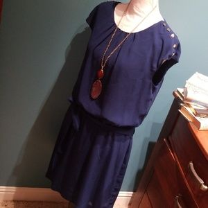 Royal blue Guess cocktail party dress size 12